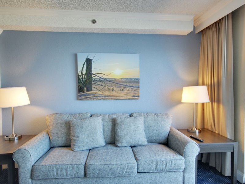 Oceanfront Sunrise Suite – Two Queen Beds and Sofa image