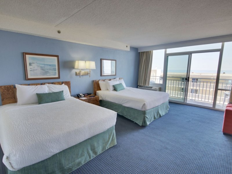 Ocean View – Two Queen Beds and Sofa image