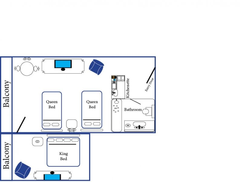 Standard Two-Room Suite image