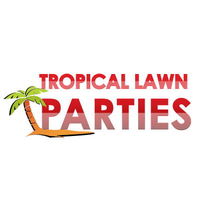 Carousel hotel tropical lown parties logo