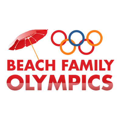 Beach Family Olympics logo