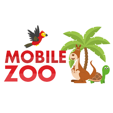 Mobile Zoo Icon