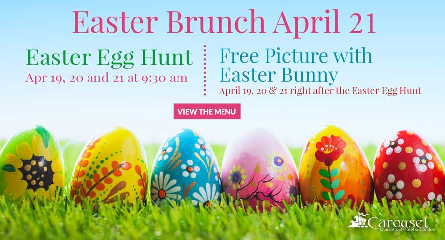 Easter Brunch April 21 | Easter Egg Hunt | Free Picture with Easter Bunny